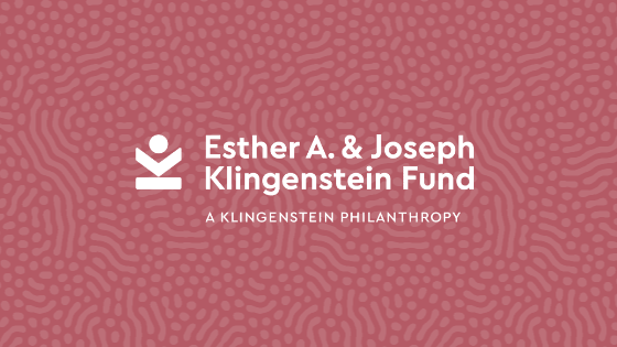 Esther A. & Joseph Klingenstein Fund