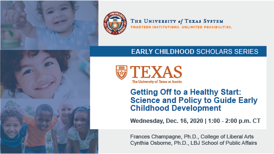 UT System Early Childhood Scholars Series