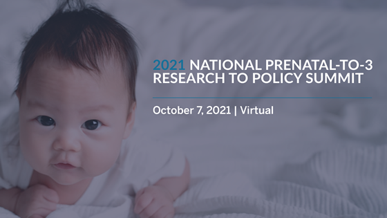 2021 National Prenatal-to-3 Research to Policy Summit